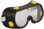 Очки защитные с непрямой вентиляцией, черный корпус, FIT, 12225