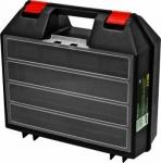 "Ящик пластиковый для электроинструмента 14"" (360х320х140 мм), FIT, 65606"