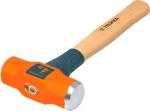 Молоток инженерный, деревянная ручка с антишоковой защитой, финишная обработка бойка MD, TRUPER