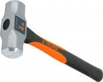 Молоток инженерный, двухкомпонентная ручка фибергласс, финишная обработка бойка MD, TRUPER