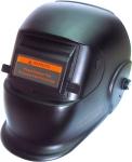 Маска сварщика BLACK GLASS, с поднимающимся светофильтром DIN12, AURORA, 10624