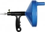 Трос для прочистки труб, L - 3,3 м, D - 6 мм, пластмассовый корпус, СИБРТЕХ, 92464