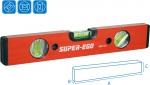 Алюминиевый уровень 400мм, SUPER-EGO, 200040000